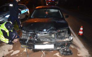 Bolesławowo – Policjanci pracowali na miejscu zdarzenia drogowego