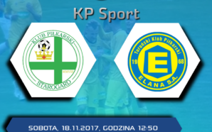 Oglądaj na żywo mecz KP Starogard Gd. – Elana Toruń!