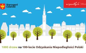 Tysiąc drzew na stulecie odzyskania niepodległości przez Polskę