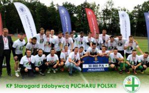 KP Starogard Gdański zdobywcą regionalnego Pucharu Polski!
