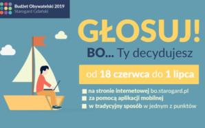 Ruszyło głosowanie na projekty Budżetu Obywatelskiego 2019