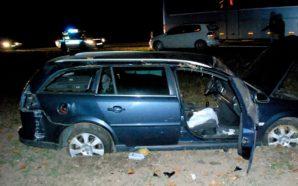 Trzy osoby ranne w wypadku na Berlince