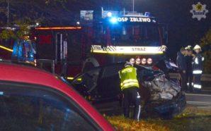 Dwie osoby ranne w wypadku na Berlince