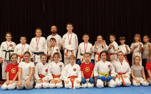 Shuto Karate Team z jedenastoma medalami