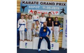 Sukcesy karateków w międzynarodowym turnieju