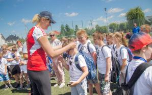 Lekcja siatkówki z Małgorzatą Glinką – Mogentale