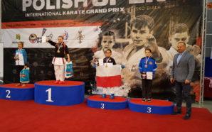 Paulina Czepirska z medalem na International Karate Grand Prix Polish…