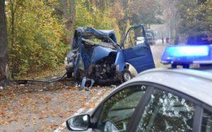Śmiertelny wypadek drogowy na DW 224 – Film