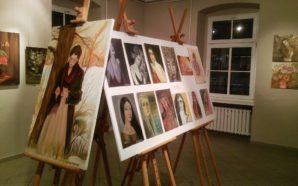 Kobiety i kwiaty w malarstwie Eleny Kalininy