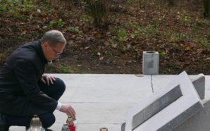 Prezydent odwiedził groby