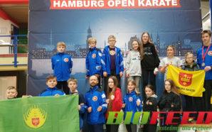 Wywalczyli brązowe medale podczas Hamburg Open Karate