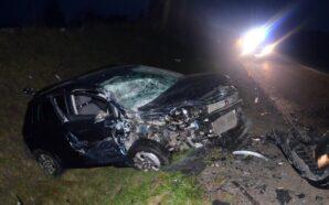 Policjanci ustalają okoliczności wypadku
