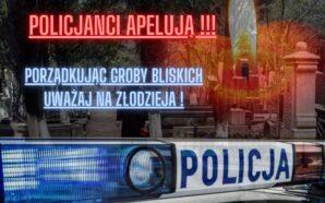 Policjanci apelują o ostrożność podczas wizyt na cmentarzach